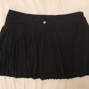 Lululemon pleated skirt with built in shorts